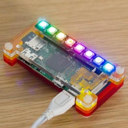 Blinkt!, nada más y nada menos que 8 luces LED programables