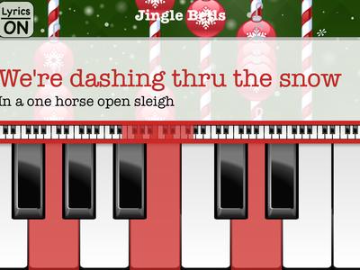 Christmas piano with songs, aprende a tocar en piano las mejores canciones de Navidad: App de la Semana