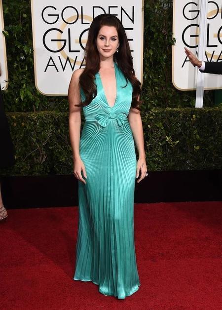 Lana Del Rey Globos De Oro 2015