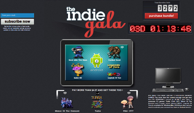 Indie Gala Android