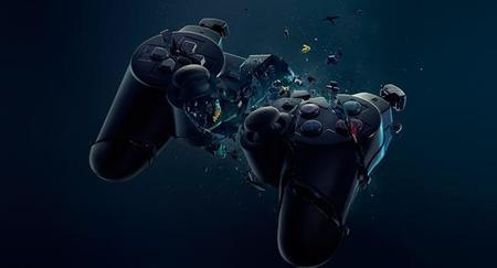 Video Games Black Broken Sony Console Crash Playstation Destroyed Crush Dualshock Gamepad Controller Www Wallmay Com 44