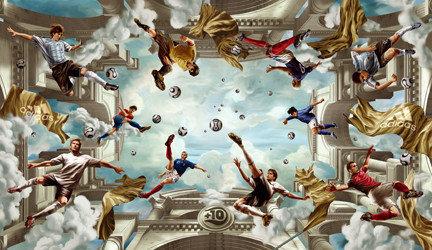 La capilla Sixtina del fútbol: arte y publicidad en la estación de Colonia