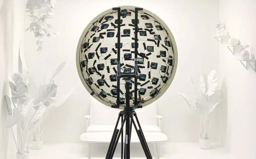 Este aparato de 46 cámaras producido por Google® posibilita visualizar en 3D y cambiar la perspectiva de los vídeos en asamblea real