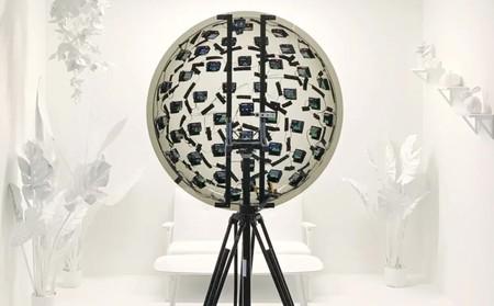 Este sistema de 46 cámaras desarrollado por Google permite ver en 3D y cambiar la perspectiva de los vídeos en tiempo real