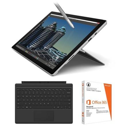 Microsoft Surface Pro 4 + Teclado + Office 365 por 999 euros