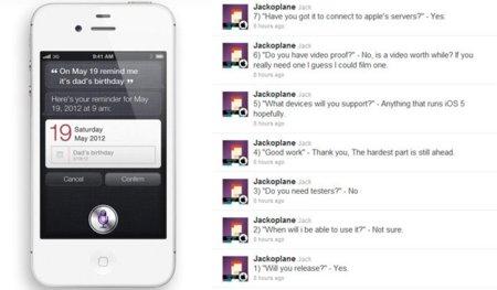 Nuevos avances para ejecutar Siri en cualquier dispositivo con iOS 5