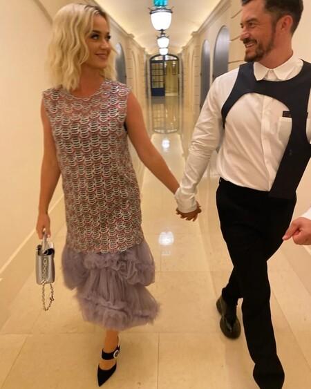 Katy Perry y Orlando Bloom posan junto a Sophie Turner y Joe Jonas en la cena de Louis Vuitton y eclipsan al resto de invitadas
