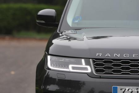 Range Rover Sport PHEV ópticas delanteras
