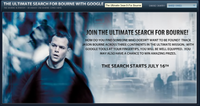 Bourne y google se unen para promocionar 'El Ultimátum de Bourne'