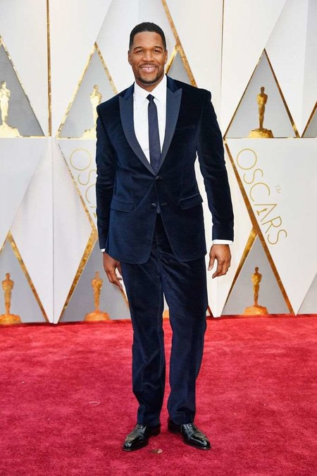 Michael Strahan Oscars 2017 Awards Red Carpet