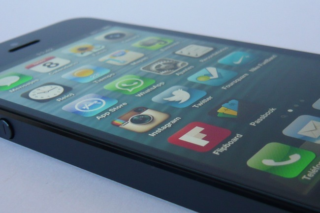 iPhone 5 iOS 6 combinado