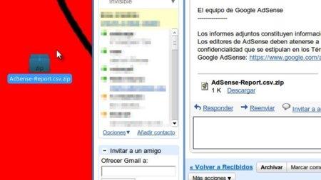 Gmail permite descargar adjuntos arrastrandolos fuera... de Chrome