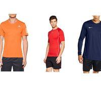 Ofertas en camisetas deportivas Adidas, Nike y Under Armour de Amazon: algunas tallas sueltas son chollos