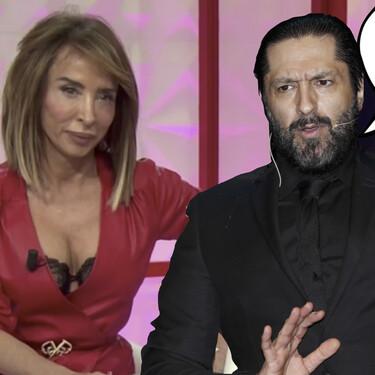 """Este ha sido el duro ataque de Rafael Amargo a María Patiño en 'Socialité': """"a la de la vena ni la nombro"""""""