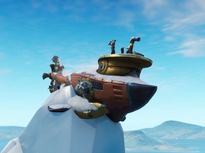 Guía Fortnite: baila en corona de caravanas, tortuga metálica y submarino [Temporada 7, semana 1]