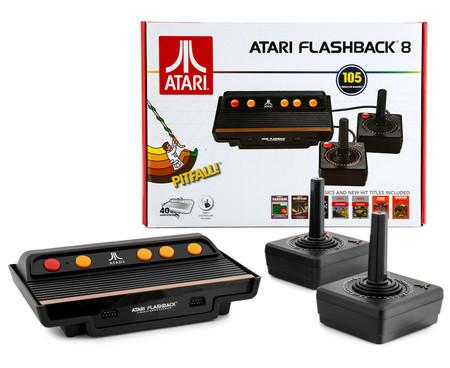 Consola retro Atari Flashback 8, con 105 juegos y dos mandos, en oferta hoy a precio de los ochenta: por sólo 29 euros