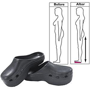 Los zuecos Slimming Clogs te ayudan a adelgazar mientras caminas