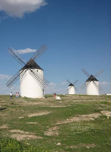 Los molinos del Quijote en Campo de Criptana (Ciudad Real)
