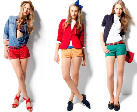 Mete en la maleta unos shorts de colores, ¡triunfarás!