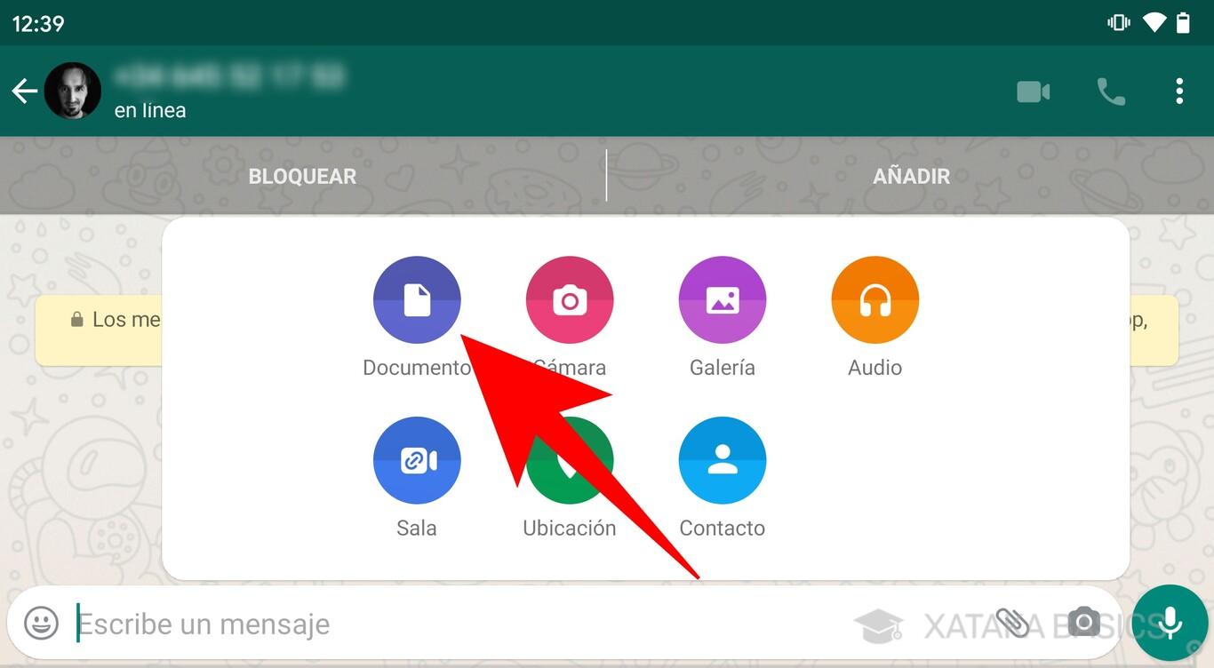 enviar video por whatsapp