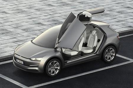 Giugiaro Clipper concept car, ¿un rival para el Tesla Model X?