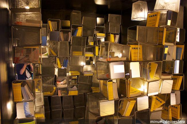 Foto de Ikea al cubo, arte con objetos de decoración (3/10)