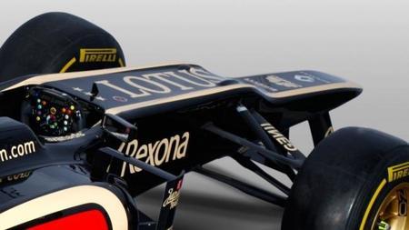 El Lotus E21 utiliza un sistema de suspensión superior al del Mercedes W04