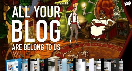 Juegos polémicos, enemigos puñeteros y el demake del 'The Curse of Monkey Island'. All Your Blog Are Belong To Us (CLV)