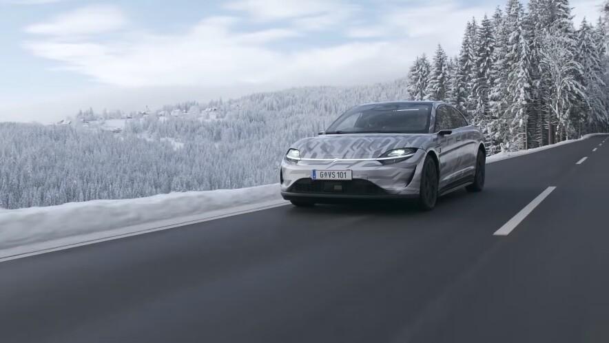 Sony Vision-S: el coche eléctrico de Sony ya recorre las calles de Europa y confirma nuevos detalles