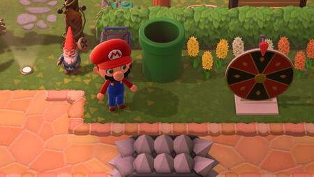 Animal Crossing: New Horizons: cómo usar las tuberías del set de Super Mario