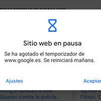 Bienestar digital: cómo añadir temporizadores de sitios web en Android 10