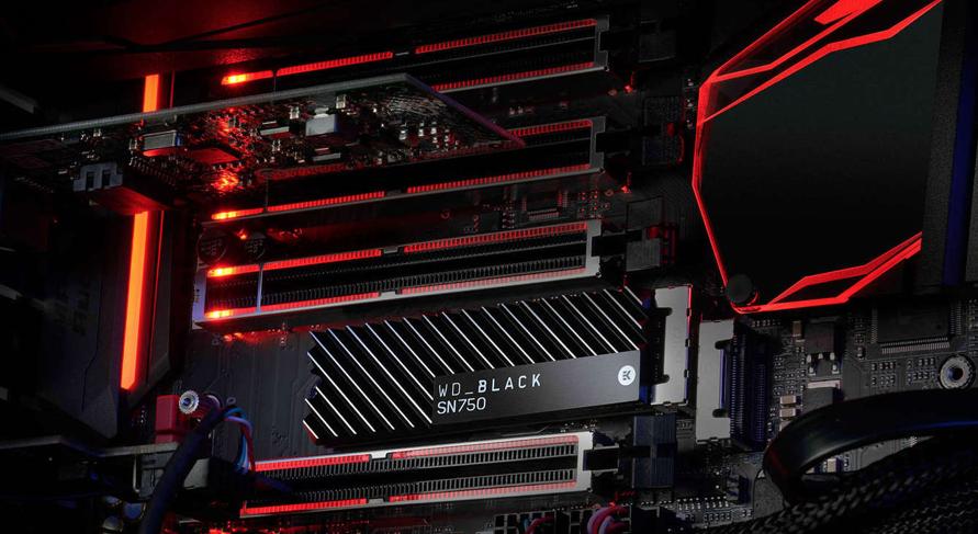 El WD Black SN750 une disipador y ser de los SSD mas rápidos del mercado para gaming