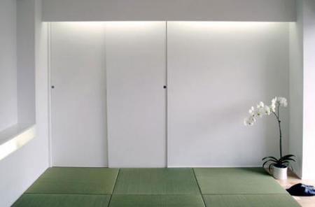 El dormitorio de la mansión Matsudo.