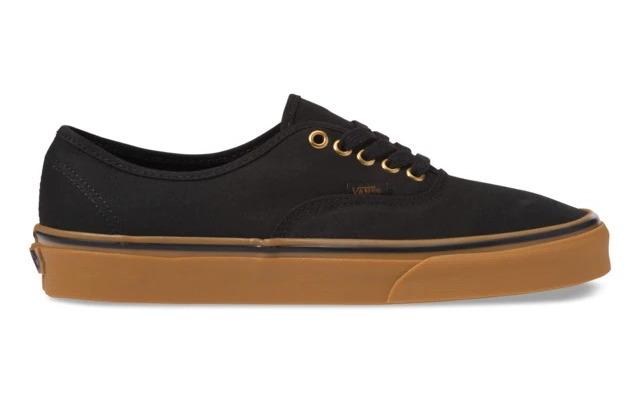 Zapatillas casual unisex Authentic Black/Rubber Vans