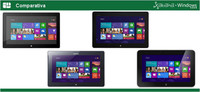 Comparativa Windows RT: Microsoft Surface RT, Asus VivoTab RT, Samsung ATIV Tab y Dell XPS 10