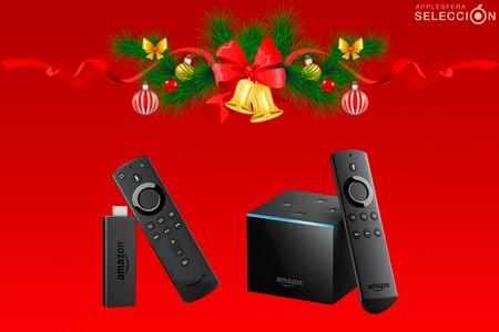 El entretenimiento de Amazon, de oferta por Navidad: dispositivos Fire TV Stick Lite, TV Stick y TV Cube desde 19,99 euros