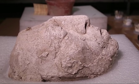 Una máscara maya asombrosamente conservada y un depósito de agua podrían revelar los secretos de la vida de Palenque, en Chiapas