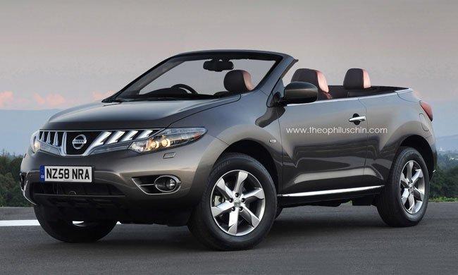 Nissan Murano CrossCabriolet Render