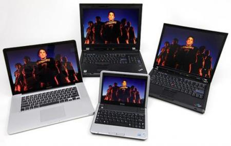 Imagen de la semana: pantallas de portátiles