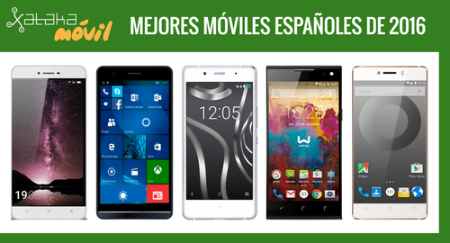 Los 36 mejores móviles españoles en toda la gama de precios en 2016