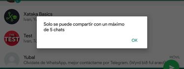 El reenviar se va a acabar: WhatsApp limita a cinco los reenvíos de un mensaje