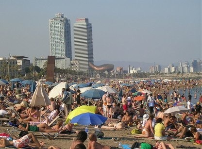 Playas VIP en Barcelona