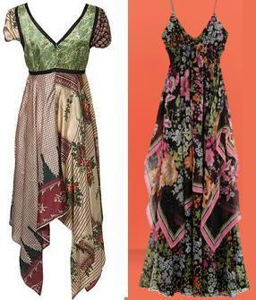 Vestidos pañuelo: ¿Penélope y Mónica Cruz para Mango o Kate Moss para TopShop?