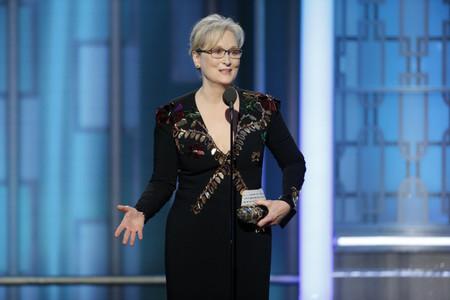 El discurso apasionado de Meryl Streep en los Globos de Oro 2017, una defensa de la integración y de los más débiles