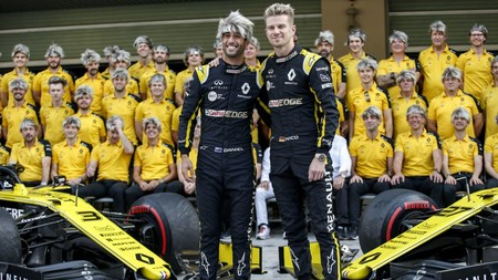 Ricciardo Hulkenberg Abu Dabi F1 2019