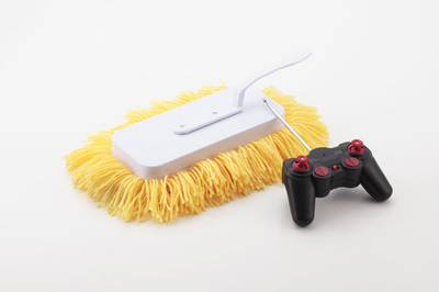 La mopa teledirigida, barre la casa desde el sofá