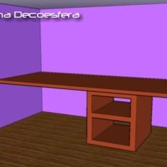 Foto 2 de 14 de la galería hazlo-tu-mismo-un-escritorio-con-una-encimera-de-cocina en Decoesfera