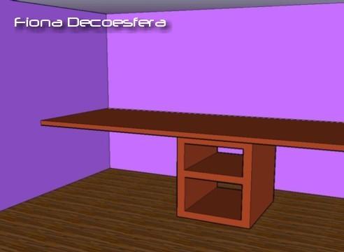 Foto de Hazlo tú mismo: un escritorio con una encimera de cocina (2/14)