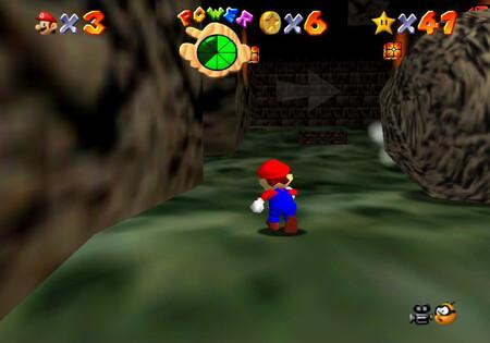 Super Mario 64: cómo conseguir la estrella Watch for Falling Rocks de Hazy Maze Cave