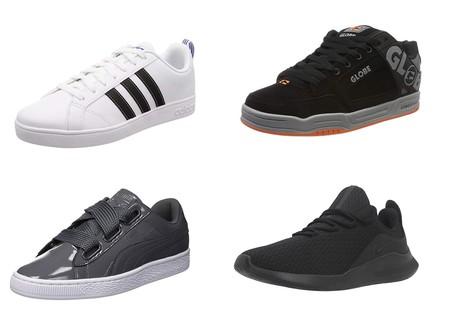 Chollos en Amazon: zapatillas Nike, Adidas, Puma o Globe desde 22 euros en tallas sueltas